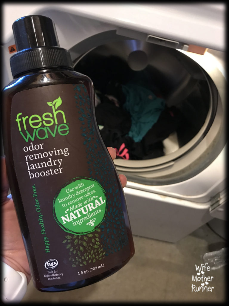 Using Fresh Wave Laundry Booster